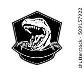 dinosaur logo   vector... | Shutterstock .eps vector #509157922