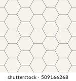 hexagon geometric black and... | Shutterstock .eps vector #509166268