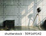 loft interior mock up photo....   Shutterstock . vector #509169142