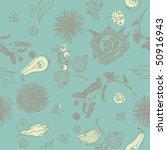 nature seamless pattern | Shutterstock .eps vector #50916943