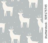 vector illustration seamless... | Shutterstock .eps vector #509175745