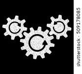 transmission wheels rotation...   Shutterstock .eps vector #509178085