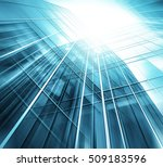 panoramic and perspective wide... | Shutterstock . vector #509183596