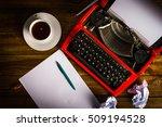 Table Writer. Typewriter. On...