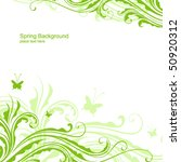 abstract flower design | Shutterstock .eps vector #50920312