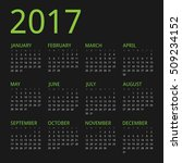 clean modern vector green dark... | Shutterstock .eps vector #509234152