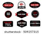 black friday sale banner....   Shutterstock .eps vector #509257315