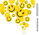 Smile Face Pattern With...