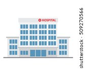 hospital building  medical icon. | Shutterstock .eps vector #509270566