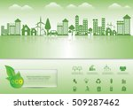 ecology connection  concept... | Shutterstock .eps vector #509287462
