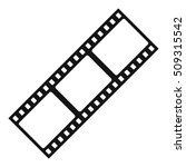 film strip icon. simple... | Shutterstock . vector #509315542
