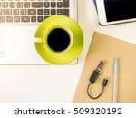 business work concept with... | Shutterstock . vector #509320192