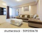 modern hotel room interior | Shutterstock . vector #509350678