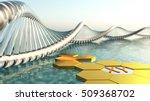 chromosome. dna.. 3d rendering | Shutterstock . vector #509368702