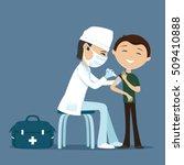 vector illustration. doctor...   Shutterstock .eps vector #509410888