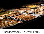catering table set service... | Shutterstock . vector #509411788