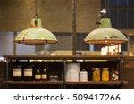 industrial style vintage...   Shutterstock . vector #509417266