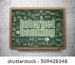 money concept  chalk green text ...   Shutterstock . vector #509428348
