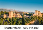 ancient arabic fortress of... | Shutterstock . vector #509446102