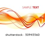 fiery abstract background.... | Shutterstock .eps vector #50945560