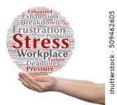 concept conceptual mental... | Shutterstock . vector #509462605
