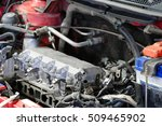 the image of a car engine... | Shutterstock . vector #509465902