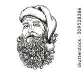 santa claus  christmas symbol... | Shutterstock .eps vector #509528386