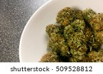 marijuana   cannabis buds. weed ... | Shutterstock . vector #509528812
