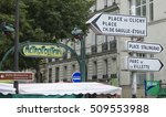 direction signs in the city of... | Shutterstock . vector #509553988