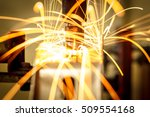 industrial welding automotive... | Shutterstock . vector #509554168