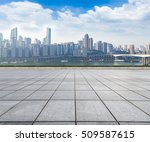cityscape and skyline of... | Shutterstock . vector #509587615