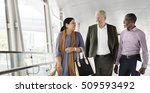 business people walking... | Shutterstock . vector #509593492