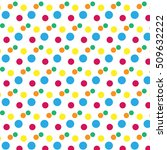 colorful dotted pattern.   | Shutterstock .eps vector #509632222
