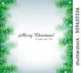 christmas background. eps 10... | Shutterstock .eps vector #509635336