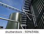 ladders and pipes on an... | Shutterstock . vector #50965486
