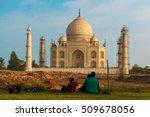 taj mahal  india. | Shutterstock . vector #509678056