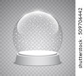 Christmas Snow Globe On...