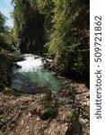 lake bled  sparkling emerald | Shutterstock . vector #509721862