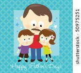 happy father's day 2 | Shutterstock .eps vector #50975251