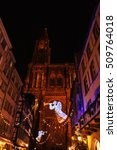 Strasbourg  France  Christmas...