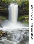 minnehaha falls | Shutterstock . vector #509782225