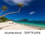 Tropical Lalomanu Beach On...