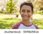 Mixed Race Caucasian Asian Boy...