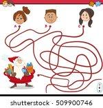 cartoon illustration of paths...   Shutterstock .eps vector #509900746