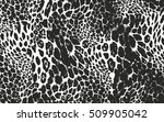 distressed overlay texture of... | Shutterstock .eps vector #509905042