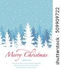 vector background  merry... | Shutterstock .eps vector #509909722