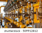 valves manual in the process... | Shutterstock . vector #509912812