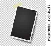 realistic vector retro photo...   Shutterstock .eps vector #509926966