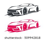 tuning car logos  emblems ... | Shutterstock .eps vector #509942818