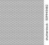 seamless hexagonal background... | Shutterstock .eps vector #509945482